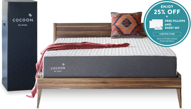 Cocoon by Sealy Chill Mattress Bundle