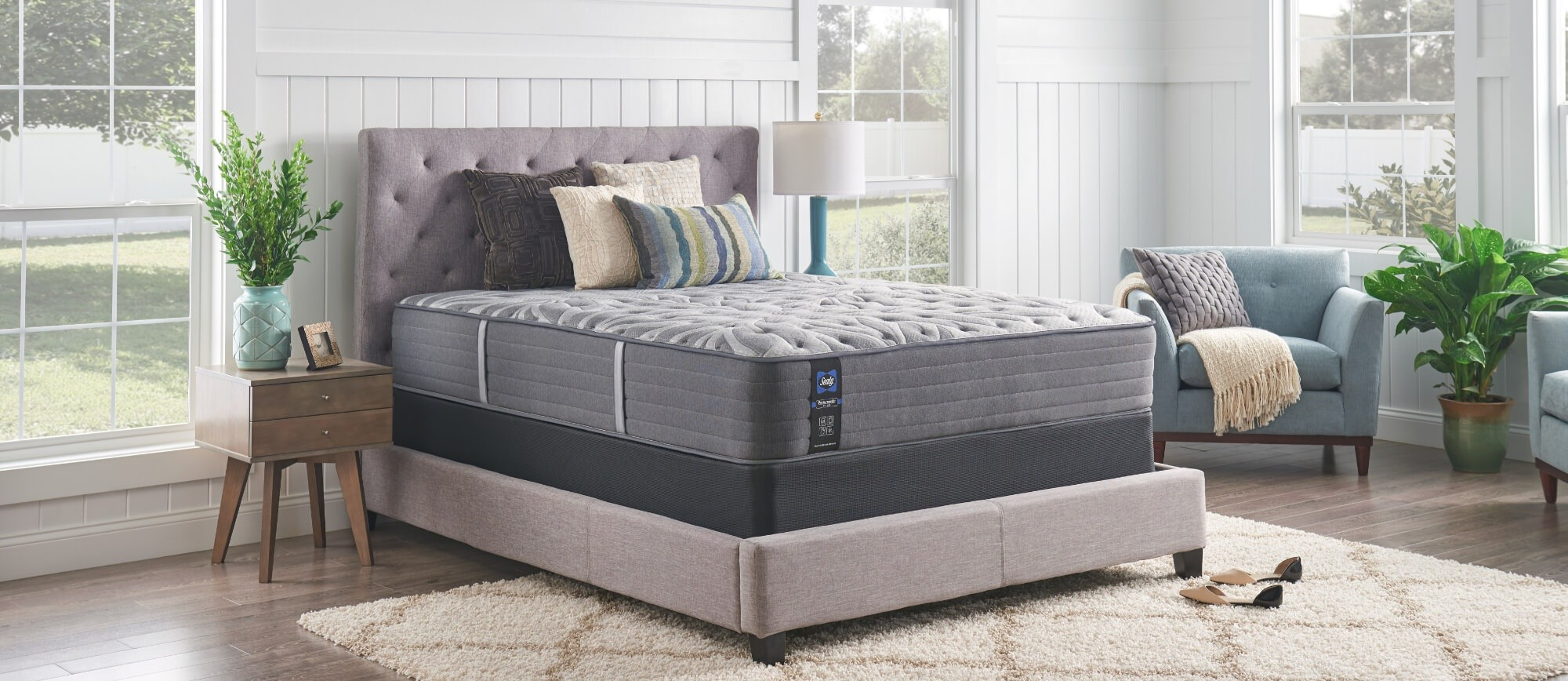 A Posturepedic Plus mattress